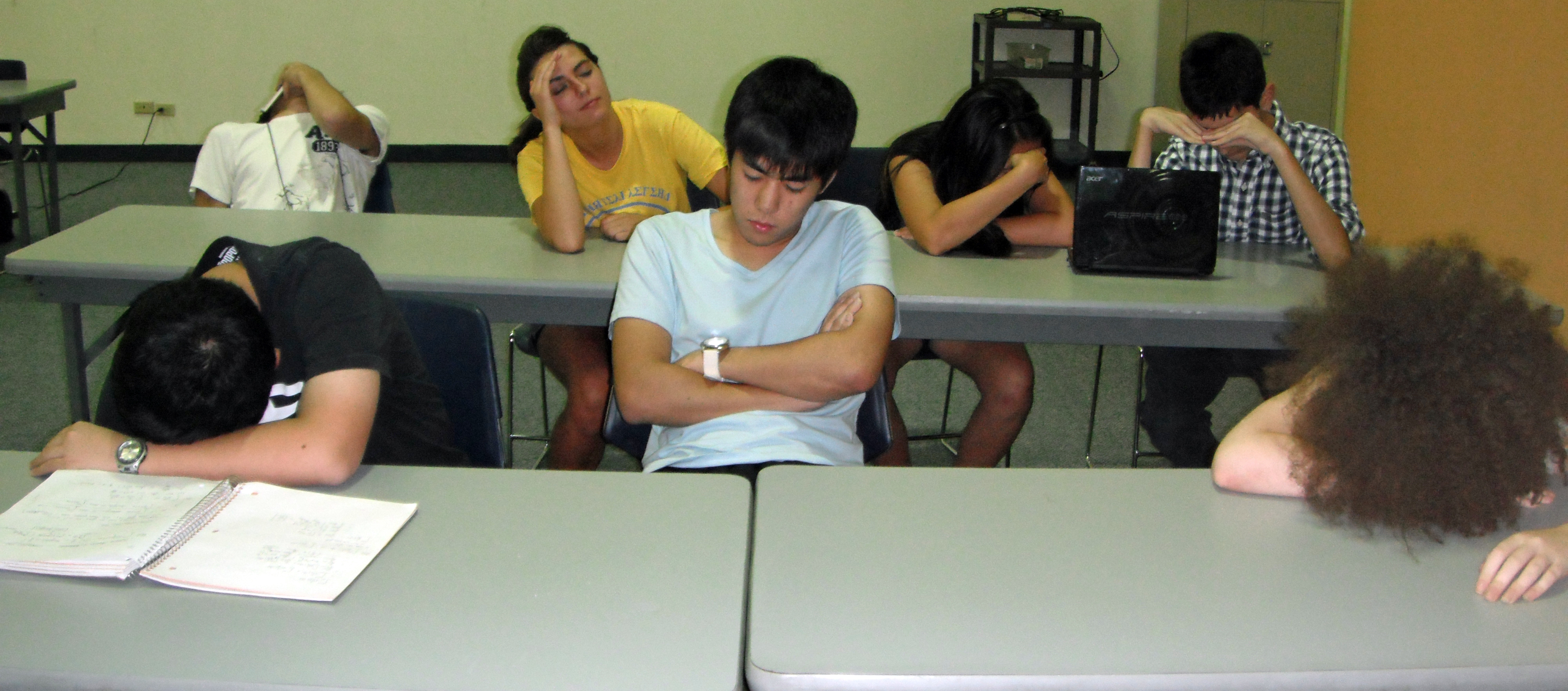 Techniques for Sleeping in Class – The Acronym | IMSA's ...