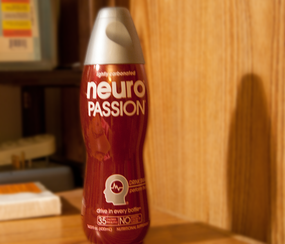 one of many varieties of the Neuro Drinks