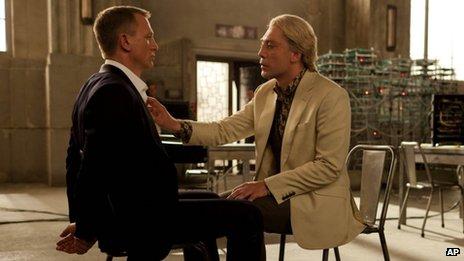 Silva interrogates Bond
