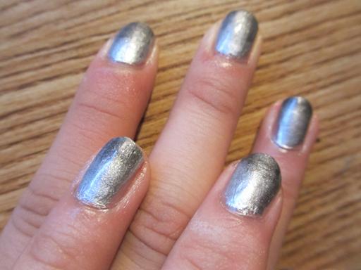 Nail Art 101 Metallic Gradient Nail Art The Acronym Imsas