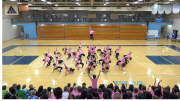A Snapshot of the Class of 2020's drill team performance