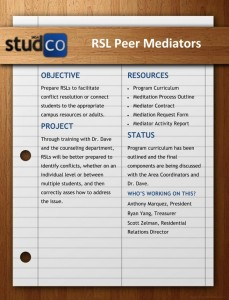 RSL Peer Mediators