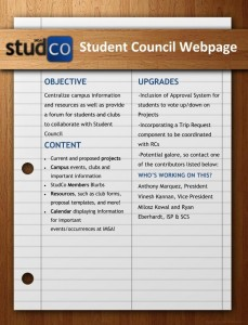 Student Council Webpage