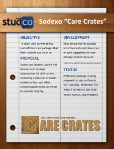 Sodexo Care Crates