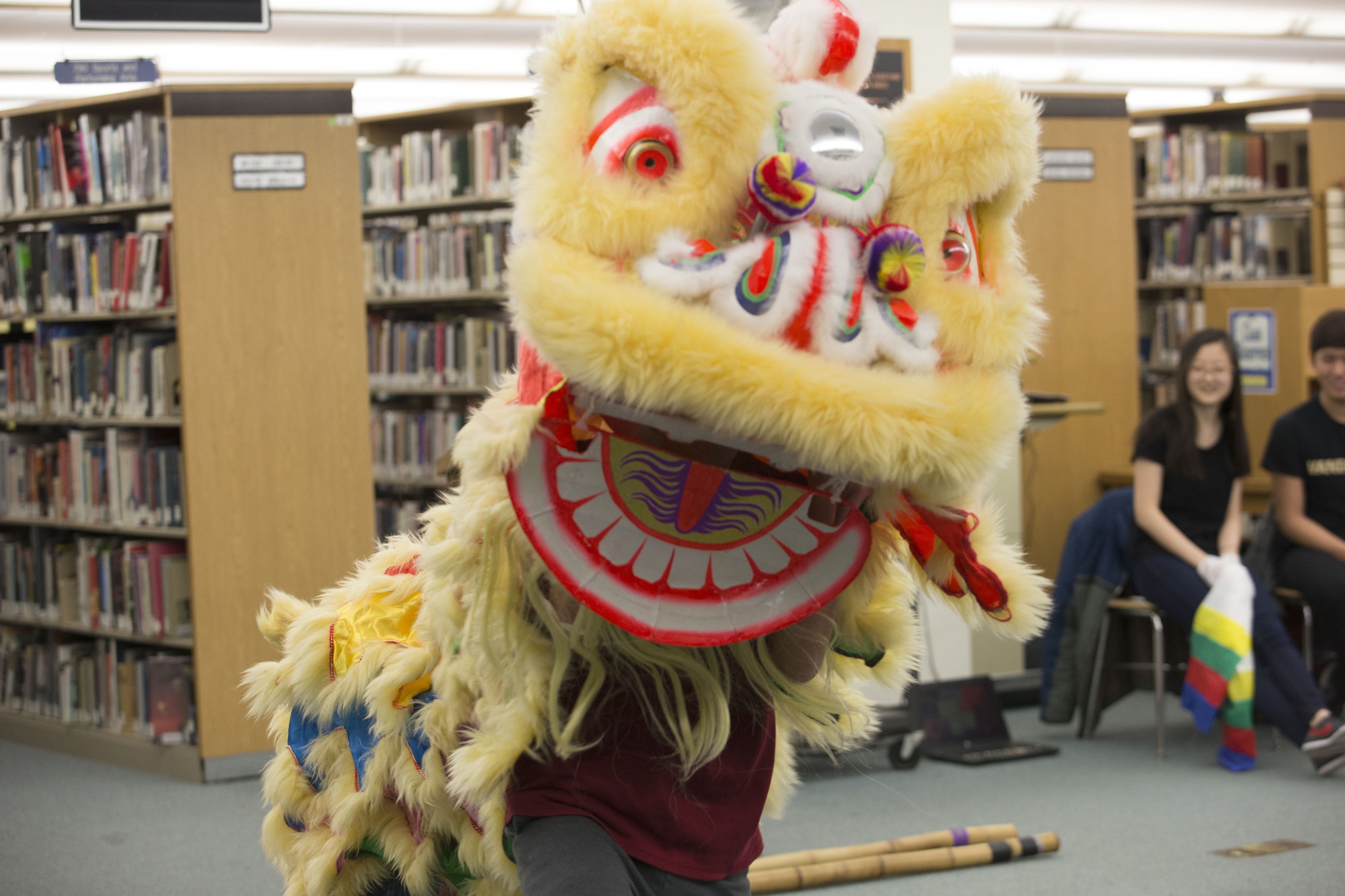 Connie Jamesjenkin, Imsa Irc Development Collection And Reference Librarian,  Wrote The Following Recap Of The Lunar New Year Readin, Which Was Held